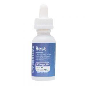 Rest CBD Oil Tincture